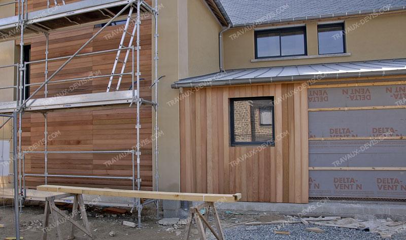 maison bardage bois